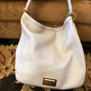 Marc Jacobs Q Hillier Hobo handbag pebbled leather